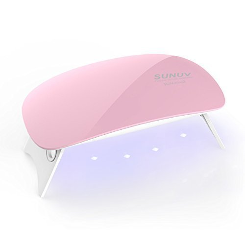SUNUV SUNmini 6W LED Lampara Uñas UV Secador Uñas