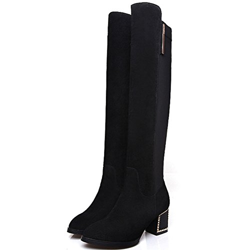 europe-and-the-stretch-boots-boots-slim-knee-boots-stovepipe-boots-boots-in-winter-b-foot-length238c