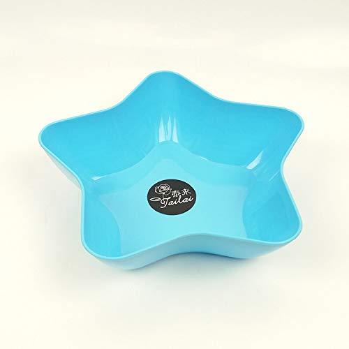 huihsg Fruchtbehältergetrocknete Fruchtbonbons Dish Snack -Fach Kunststoff 23x7