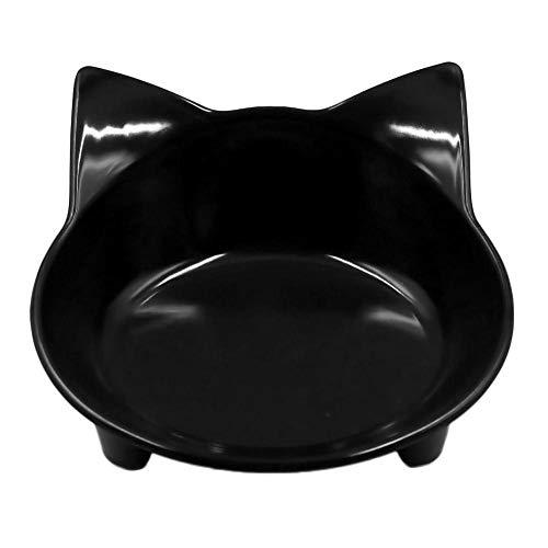 WHFDRHGW Pet Schüssel Hund Katze 8 Farben Katze-Geformtes Haustier Geschirr Pet Bowl Für Hund Katze Feeder Utensilien Kleine Mudium Hundefutter Wasser Schüssel Haustier Zubehör, weiß