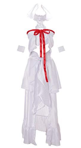 MN-22 Asuna Sword Art Online Alfheim Elfe weiß Set Anime Manga Cosplay Kleid Kostüm (Gr. XL)