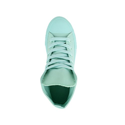 Elara Unisex Sneaker   Damen Herren   High Top   Chunkyrayan Mint one colour