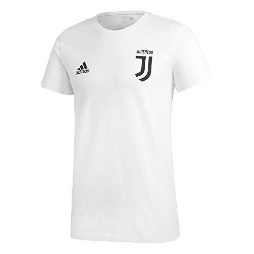 adidas FC Juventus T-Shirt Ronaldo 7 Tempo Libero 2018/19 - Colore - Bianco, Misure - L