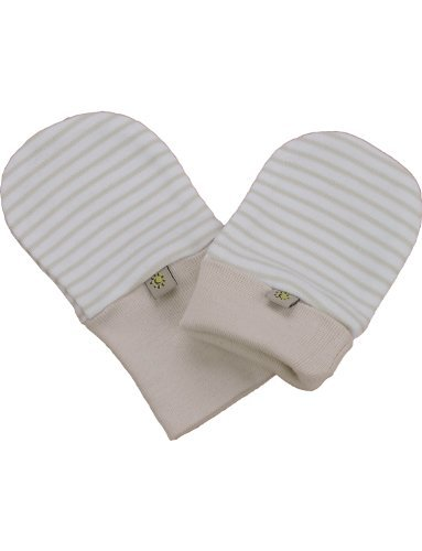 Beaming Baby Chemical Free Organic Cotton Scratch Mitts (0-12 Months)