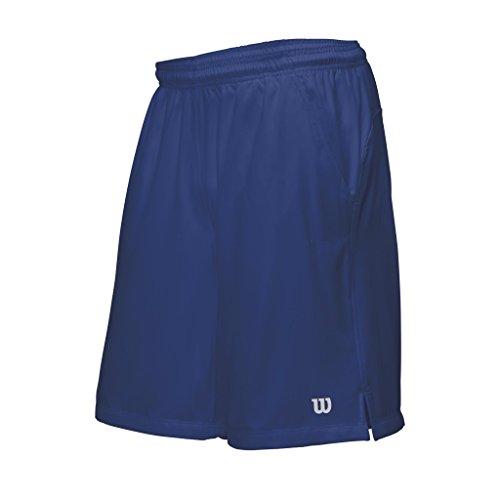 Wilson Herren Rush 9 Woven Short Men Oberbekleidung, Blau, M
