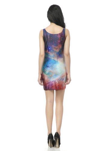 Pinkyee Damen Etui Kleid SKU-0033 Mehrfarbig - SKU-0047