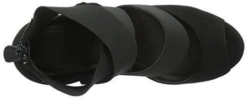 Bianco Damen Elastic Strap Sandal 35-48890 Pumps Schwarz (10/Black)