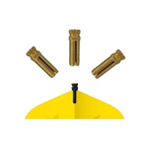 *Bull's Dart Flightschoner Aluminium, Farbe: Gold 56702*