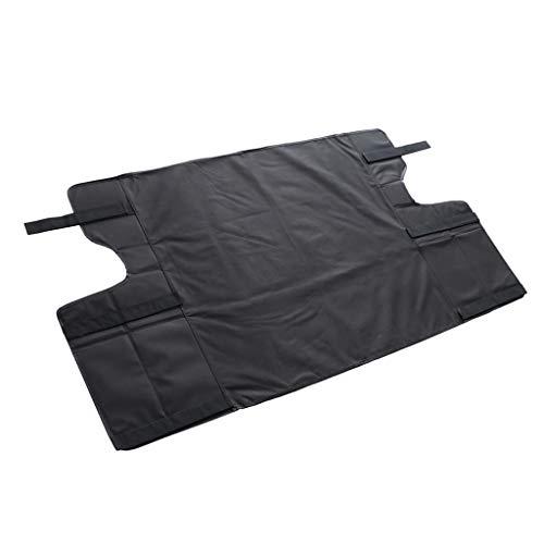 Homyl Cache Coffre Bagages avec Cache-Bagages Kit de Voiture Noir