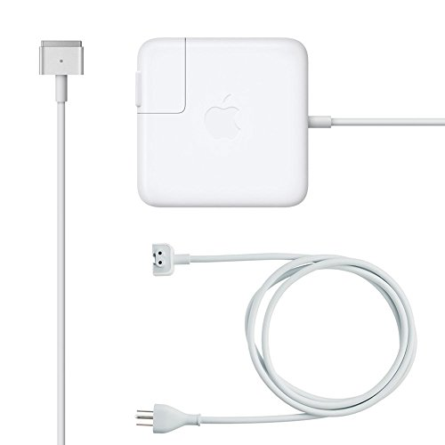 Apple MagSafe 2 - 45W Power Adaptor with Extension Cord for MacBook Air [Latest Version] / US+EU plug