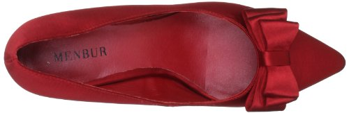 MENBUR Pechora 5031 Damen Klassische Pumps Rot (Rot 07)