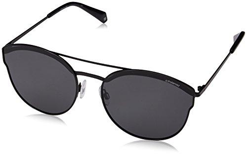 Polaroid Gradient Round Women's Sunglasses - (PLD 4057/S 2O5 60M9|60|Grey Color) image