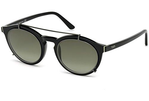 Occhiali da sole tod's to0180 c51 01p (shiny black / gradient green)