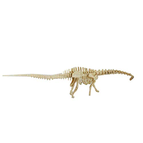 happy event Dinosaur Science Kit-Dig Up Dino Fossils and Assemble Excavation Toys for Kids (C)