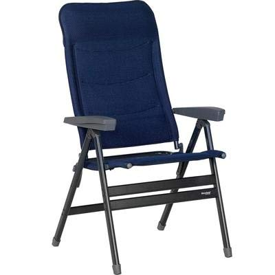 Westfield Faltstuhl Klappstuhl Advancer XL, blau, faltbar, Aluminium, belastbar bis 200 kg, Campingstuhl -