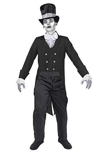 Geister BRÄUTIGAM LEICHEN Groom= Fasching Karneval Halloween=KOSTÜM DER - Frankenstein's Braut Halloween Kostüm