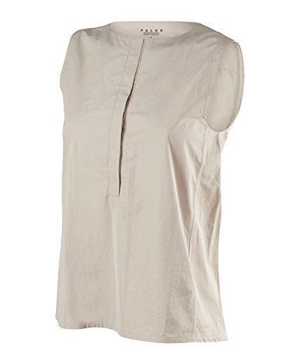 FALKE Damen Shortsleeved Polo Women Sportbekleidung, Pure Cashmere, XXL -