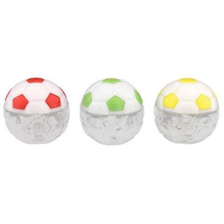 Albalù kit 12 pezzi bomboniere scatoline portaconfetti a forma di pallone (colori misti)