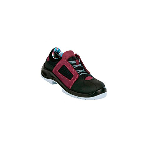 Gaston Mille - Chaussures de sécurité femme AIR LACE LADY S1P SRC ESD Aubergine