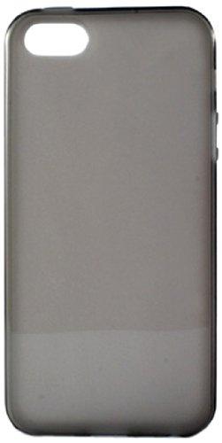 Ksix Coque en TPU pour iPhone 5–Bleu smoke