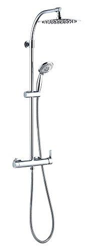 Wirquin 60721388milano touch-colonna doccia con miscelatore meccanico