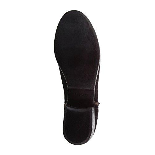 REPLAY Damen Chelsea Boots, Leder Schwarz