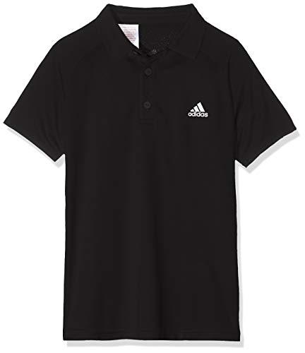 adidas Jungen Club Tennis Poloshirt, Black/White, 152