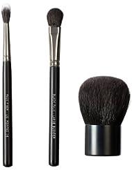 VEGAN LOVE BKFT63 Pinceau pour le Visage Black Faux Deluxe Powder