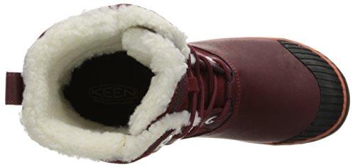 Keen , Chaussures de ville à lacets pour femme rouge Violet Zinfandel Violet Zinfandel