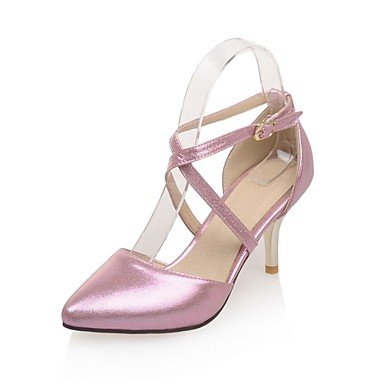 Zormey Women'S Shoes Stiletto Heel/Spitze Zehe Party & Amp Abends/Kleid Rosa/Silber/Gold US7.5 / EU38 / UK5.5 / CN38