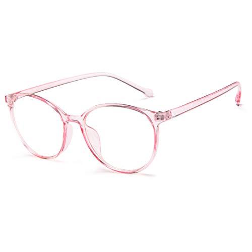 Yefree Fashion Unisex-Adult Retro Full PC Frame Leichte optische Gläser