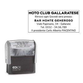Preisvergleich Produktbild Timbro autoinchiostrante Colop Printer 50 30x69 mm fino a 7 PR50NEW
