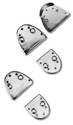 Stevens Stompers Clogging Taps Regular Nail-On Set by Danshuz