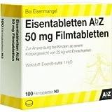 AbZ Eisentabletten 50 mg, 100 St.