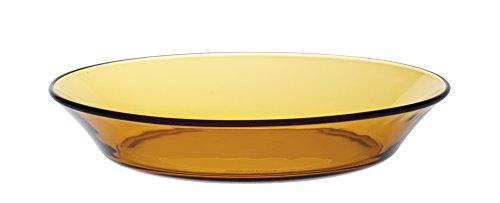 DURALEX 3007DF06 Lot de 6 Assiettes Creuses Verre Vermeil 19,5 cm