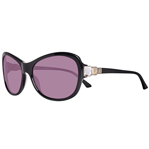 Guess MARCIANO Unisex-Erwachsene GM0652-62C38 Sonnenbrille, Schwarz (Black), 62