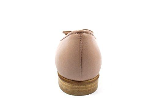 Gabor Damenschuhe 65.102.09 Damen Ballerina mit Verbreiterter Auftrittfläche antikrosa/rame