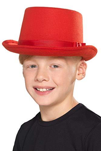 Smiffy 's 48827niños sombrero, rojo, un tamaño