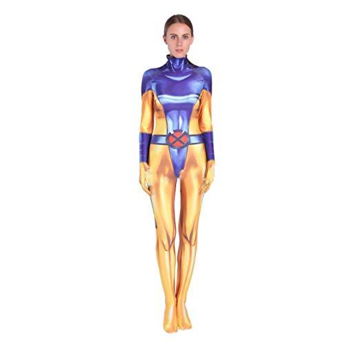 Jean Grau X-Men Phoenix Kostüm Anime Kostüm Cosplay Weibliche Strumpfhosen Kleidung Weihnachten Halloween Kostüm Für Erwachsene/Kind Tragen Adult-M (Phoenix Kostüm Männlich)