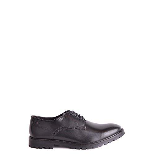 Base London Barrage, Chaussures Lacées Homme Noir