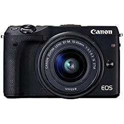 Canon EOS M3 15-45 / 3.5-6.3 EF-M IS STM Fotocamera digitale 24.7 megapixel
