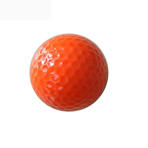 ASDF GOLF Golfbälle for Männer Billig, Golfbälle Gebraucht (Color : Orange, Size : 8 Packs) (Golfbälle Bridgestone Orange)