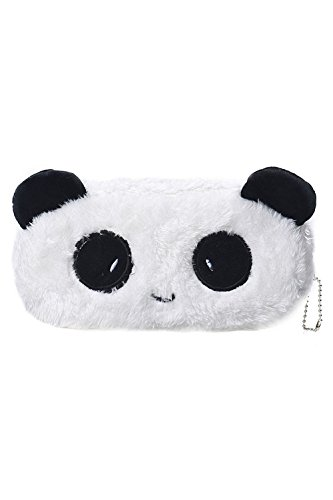 Beauty * Top * Picks New Cute Cartoon kawaii Federmäppchen Plüsch groß Pen Bag Kids School Supplies panda