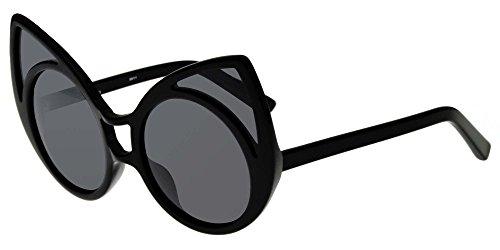 Linda Farrow Sonnenbrillen KHALEDA RAJAB + FAHAD ALMARZOUQ 1 BLACK BLACK/LIGHT GREY Damenbrillen