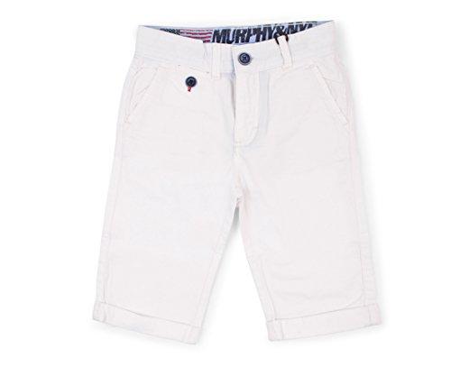 new arrival b590f f43d6 Murphy&Nye Boys' Shorts White white