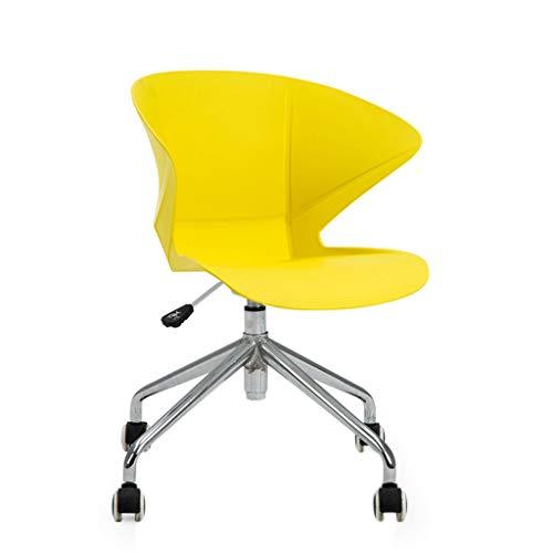 Bürostuhl Verhandlungsstuhl Moderner minimalistischer nordischer Konferenzstuhl Creative Company Training Konferenzstuhl Home Schreibtischstuhl (Color : E, Größe : 77.5cm) -