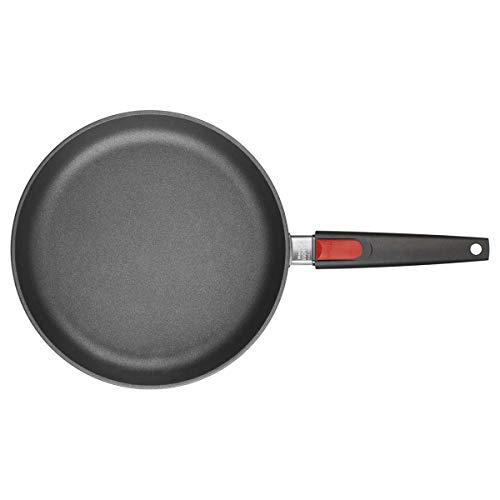 Woll Titanium Nowo - Sartén para freír con mango extraíble, Negro, 20 cm