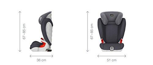 Britax Römer KIDFIX SL High-Backed Booster Car Seat, Group 2/3 (15 – 36 kg), Collection 2017, Cosmos Black
