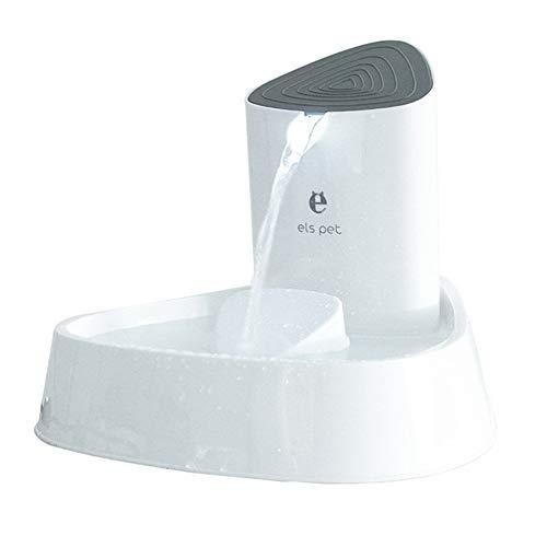 ALWAYZZ 1.5L Elektrische Automatische Brunnen Dispenser Haustier Hund Katze Brunnen Trinknapf für Welpen Trinkgerät Liefert Original (Fließendem Pet Wasser Brunnen)