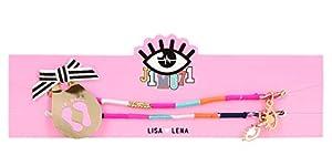 Depesche 10545 - Cintas para el pie con Colgante pequeño Lisa y Lena J1MO71, 2 Unidades